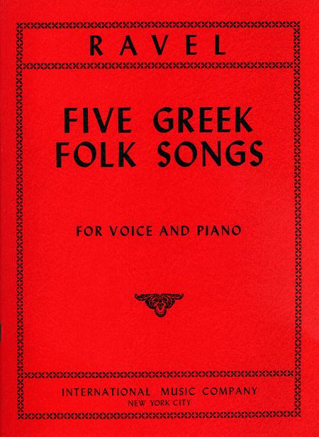 Five Greek Folk Songs