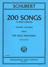 200 Songs in three volumes