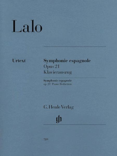 Symphonie espagnole for Violin and Orchestra d minor op. 21