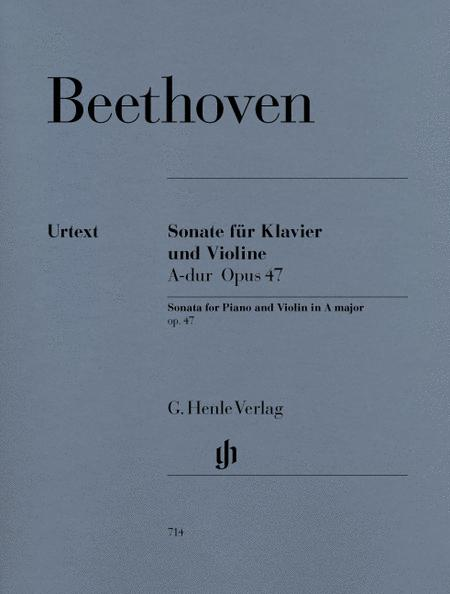 Sonata for Piano and Violin in A Major Op. 47 (Kreutzer-Sonata)