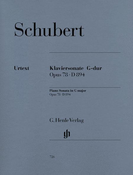 Sonata G Major Op. 78 D 894