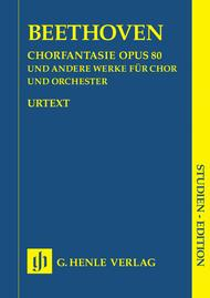 Chorus Fantasy c minor and other works