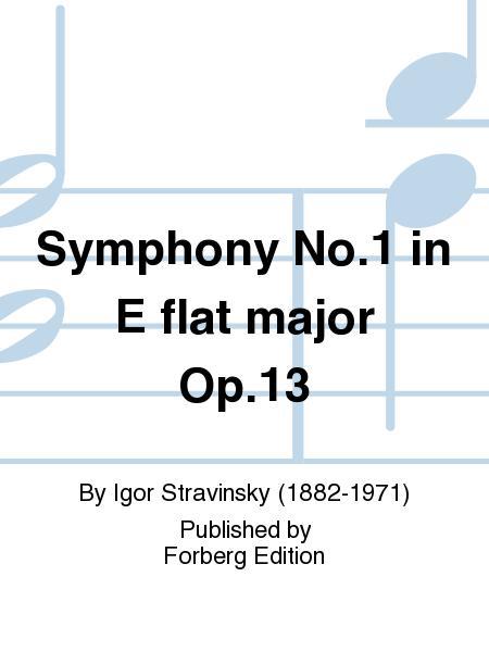 Symphony No. 1 in E flat major Op. 13