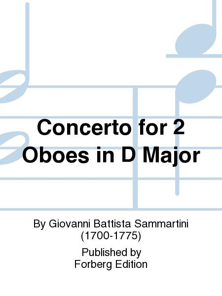 Concerto for 2 Oboes in D Major