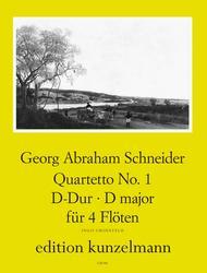 Quartet No. 1 in D Major