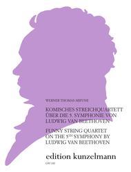 Comic Quartet based on Beethoven's Fifth Symphony