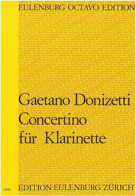 Clarinet Concertino in Bb Major
