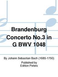 Brandenburg Concerto No. 3 in G BWV 1048