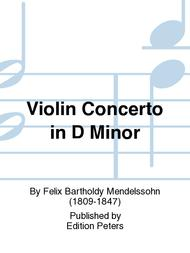 Violin Concerto in D Minor