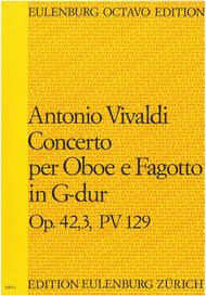 Concerto for Oboe and Bassoon in G Major