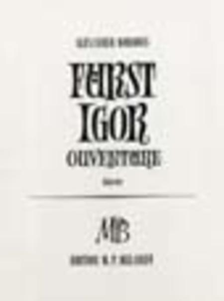 Overture to Prince Igor
