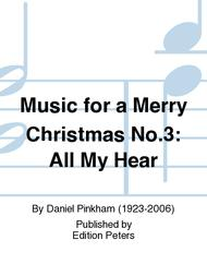 Music for a Merry Christmas No.3: All My Hear
