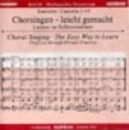 Christmas Oratorio - Choral Singing CD (Soprano)