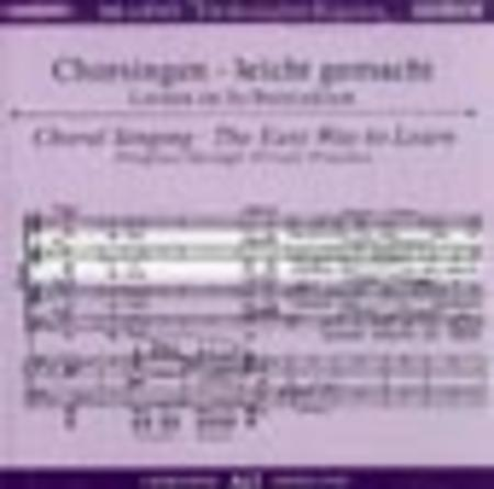 German Requiem - Choral Singing CD (Alto)