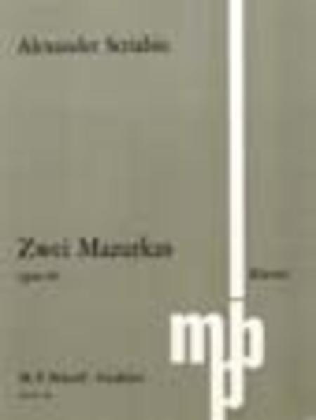 2 Mazurkas Op. 40