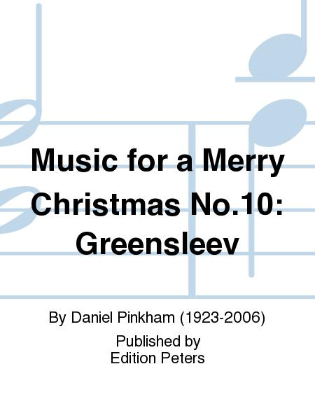 Music for a Merry Christmas No.10: Greensleev
