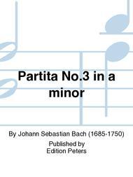 Partita No. 3 in a minor
