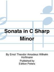 Sonata in C sharp minor