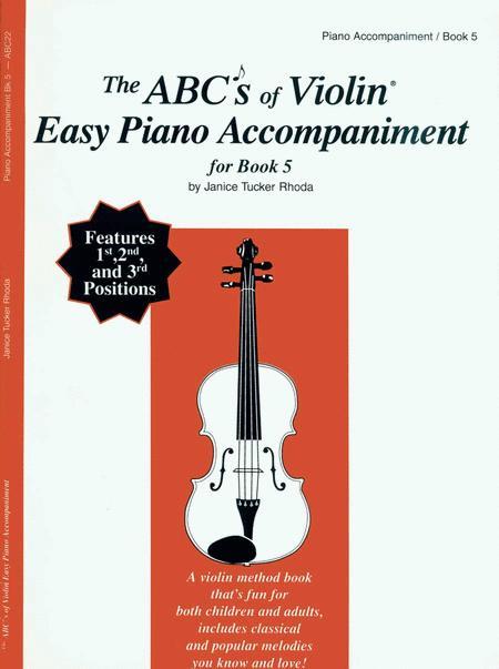 The ABC's of Violin Book 5 - Piano Accompaniment