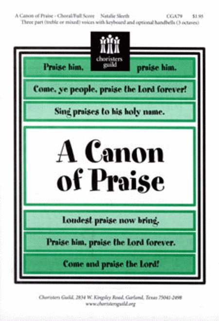 A Canon of Praise