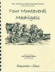 Four Monteverdi Madrigals