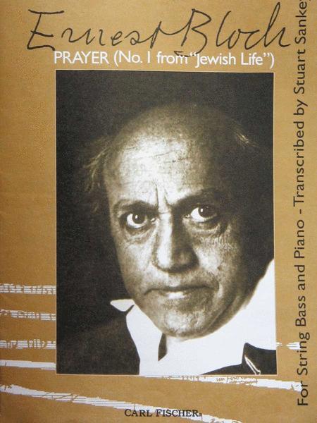 Prayer (No. I From 'Jewish Life')
