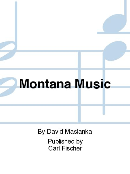 Montana Music: Three Dances for Percussion