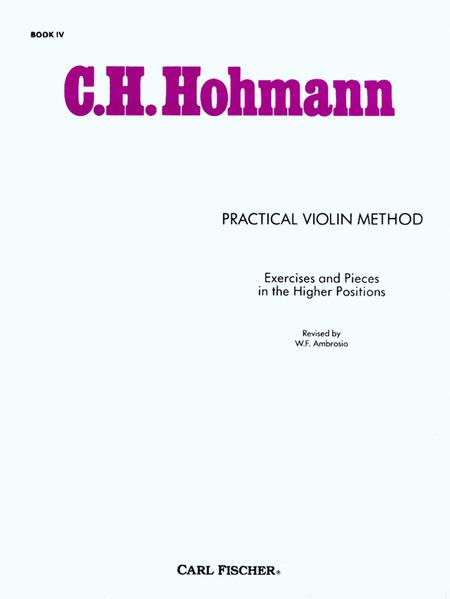 Practical Violin Method - Book IV