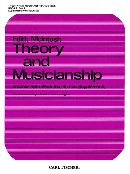 Theory And Musicianship, Book 2, Part 1: