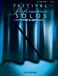 Festival Performance Solos - Volume 1 (Clarinet)