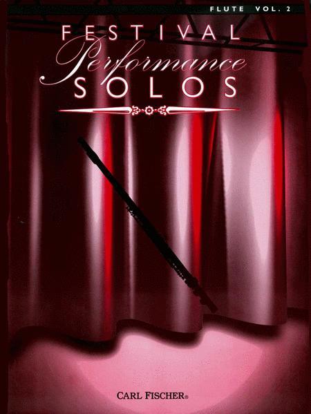 Festival Performance Solos - Volume 2 (Flute)