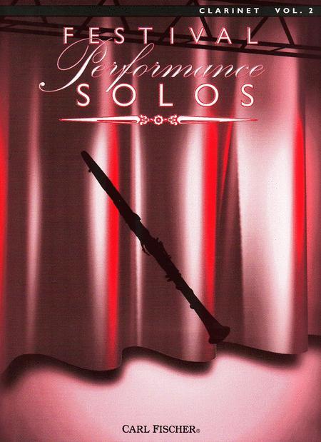 Festival Performance Solos - Volume 2 (Clarinet)