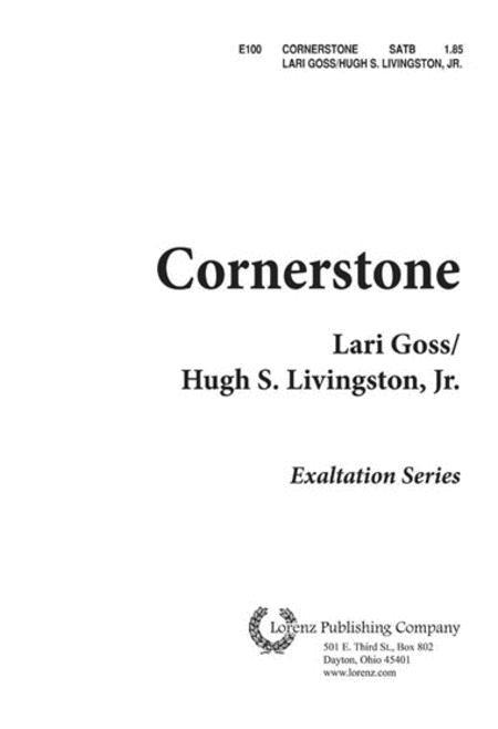 Cornerstone Sheet Music By Lari Goss Sheet Music Plus
