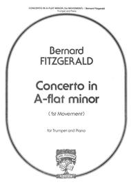 Concerto In A Flat Minor - Mvt. I