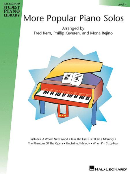 More Popular Piano Solos - Level 4