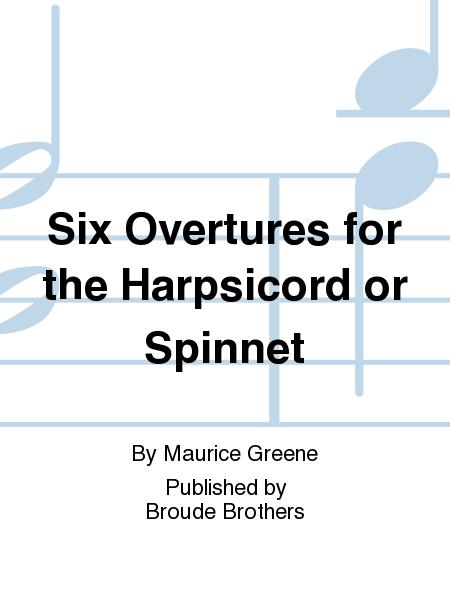 Six Overtures. PF 161.