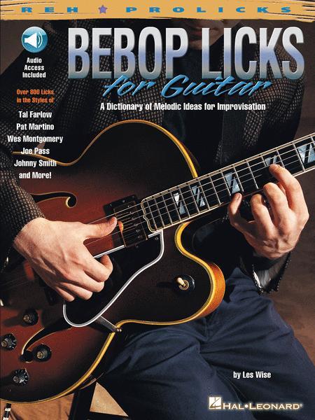 Bebop Licks for Guitar