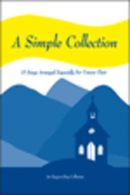 A Simple Collection, Volume 1 (Split Track Accompaniment CD)
