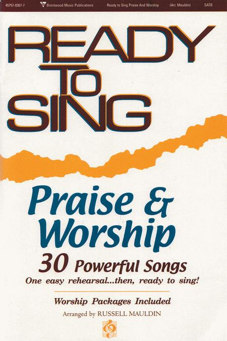 Ready To Sing Praise and Worship, Volume 1 (Listening CD)