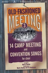 Old Fashioned Meeting, Volume 3 (Choral Book)