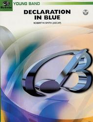 Declaration in Blue