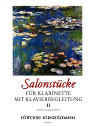 Salon Pieces for Clarinet with Piano - Volume II