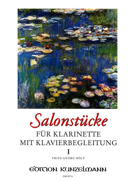 Salon Pieces for Clarinet with Piano Vol. 1