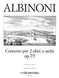 Concerto a cinque in C Major Op. 7 No. 5