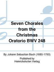 Seven Chorales from the Christmas Oratorio BWV 248