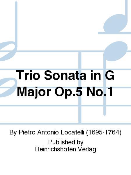 Trio Sonata in G Major Op. 5 No. 1