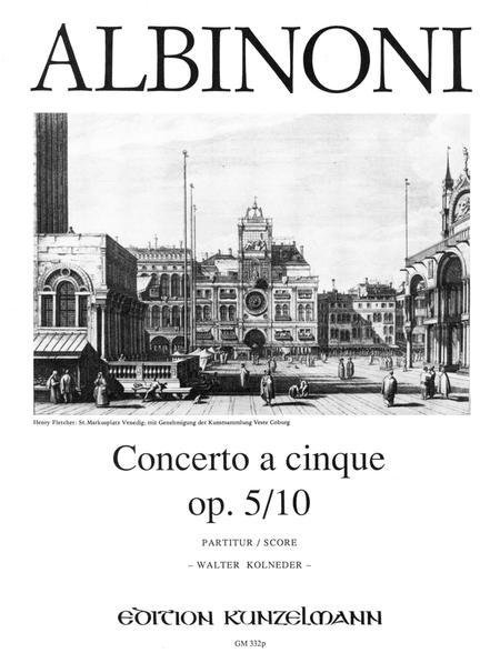 Concerto a cinque in A-dur