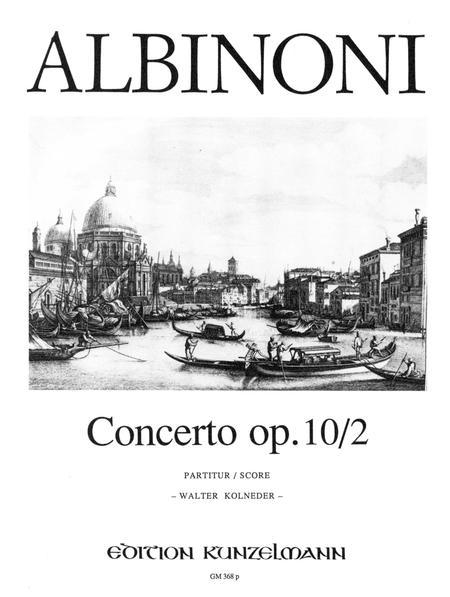Concerto a cinque in G Minor Op. 10 No. 2
