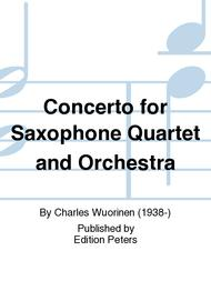 Concerto for Saxophone Quartet and Orchestra