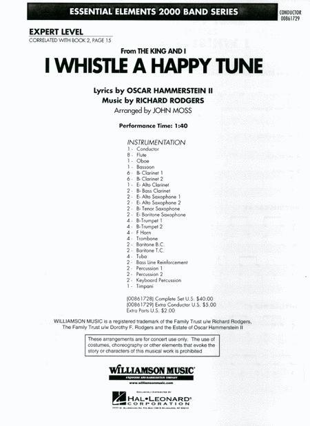 I Whistle a Happy Tune